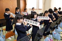 午後の授業(音楽)