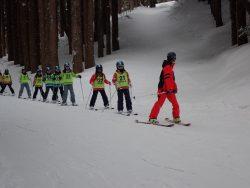 スキー合宿変更