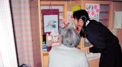 老人ホーム訪問
