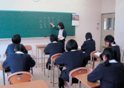午後の授業