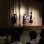 学園祭ポスター表彰式