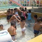 夏期保育と夏祭り