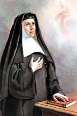 聖女ホアキナ・デ・ベドゥルナ(1783〜1854)創立者